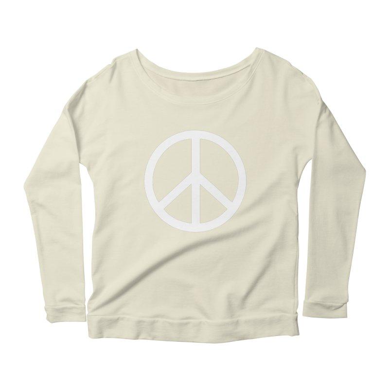 Peace, bro. Women's Longsleeve Scoopneck  by The Digital Crafts Shop