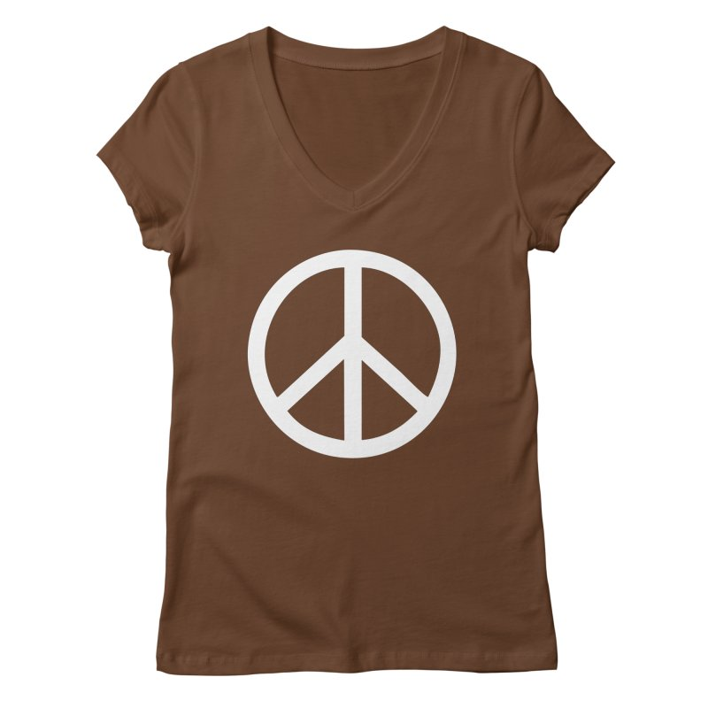Peace, bro. Women's Regular V-Neck by The Digital Crafts Shop