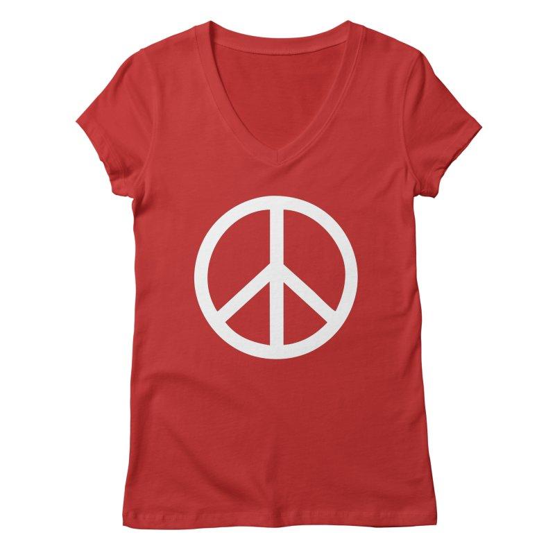 Peace, bro. Women's Regular V-Neck by The Digital Crafts Shop