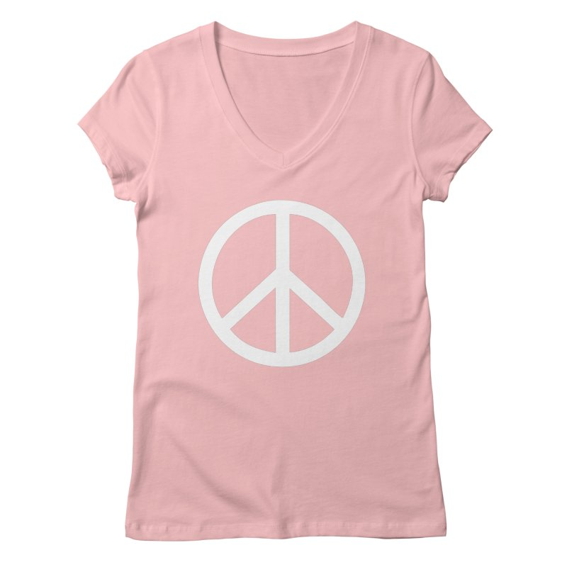 Peace, bro. Women's V-Neck by The Digital Crafts Shop