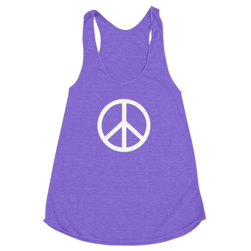 Peace, bro. Women's Racerback Triblend Tank by The Digital Crafts Shop