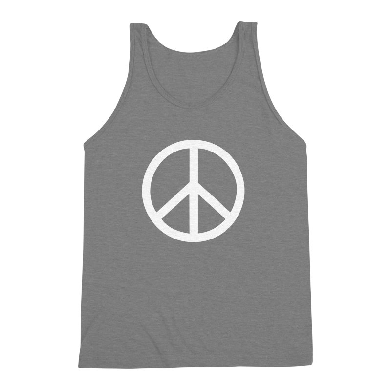 Peace, bro. Men's Triblend Tank by The Digital Crafts Shop