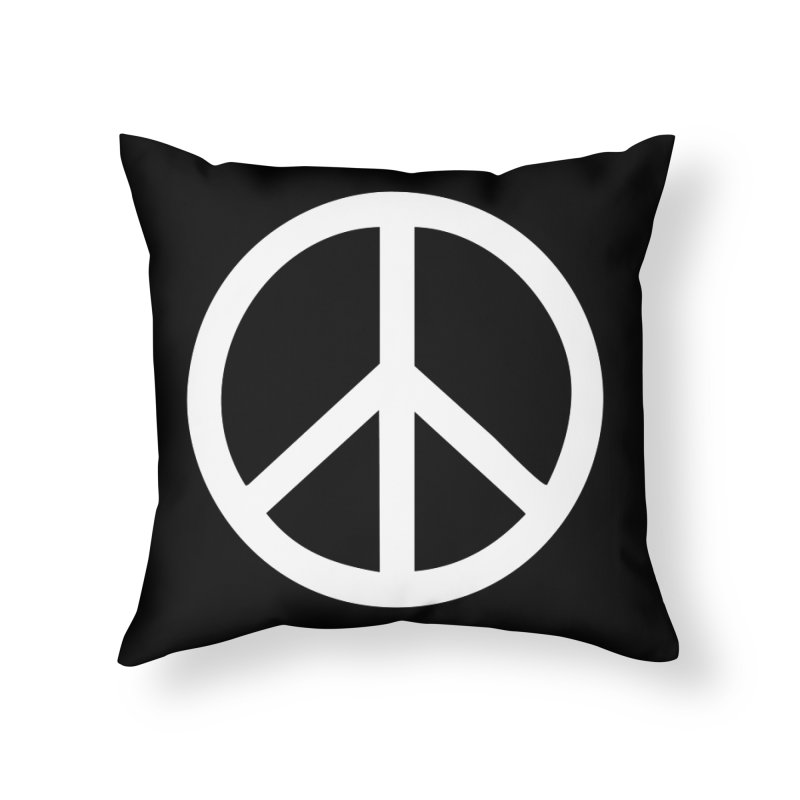 Peace, bro. Home Throw Pillow by The Digital Crafts Shop