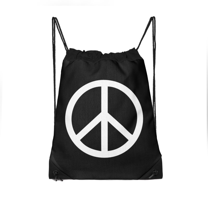 Peace, bro. Accessories Drawstring Bag Bag by The Digital Crafts Shop