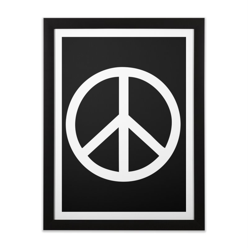 Peace, bro. Home Framed Fine Art Print by The Digital Crafts Shop