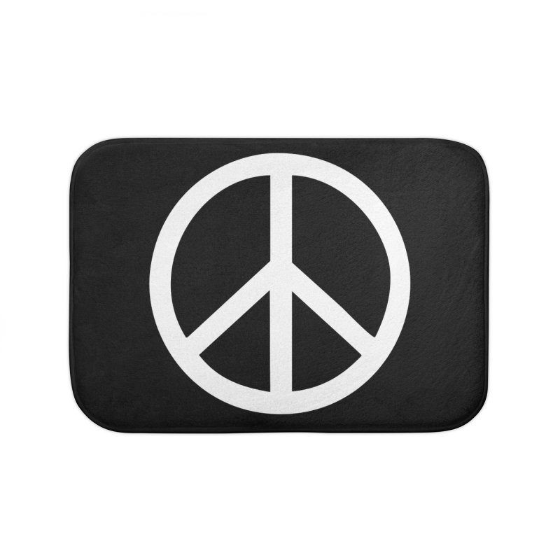 Peace, bro. Home Bath Mat by The Digital Crafts Shop