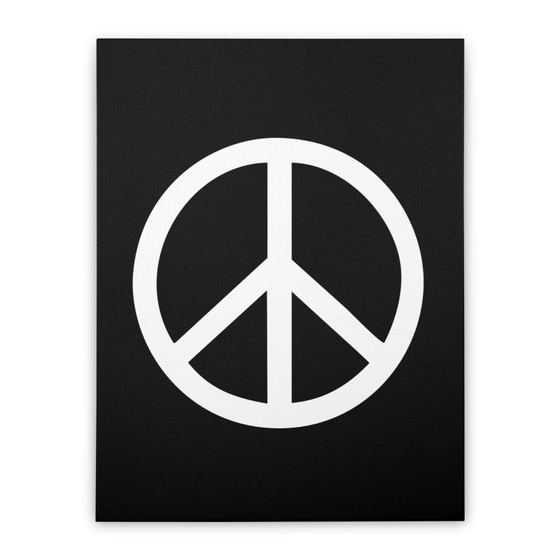 Peace, bro. Home Stretched Canvas by The Digital Crafts Shop