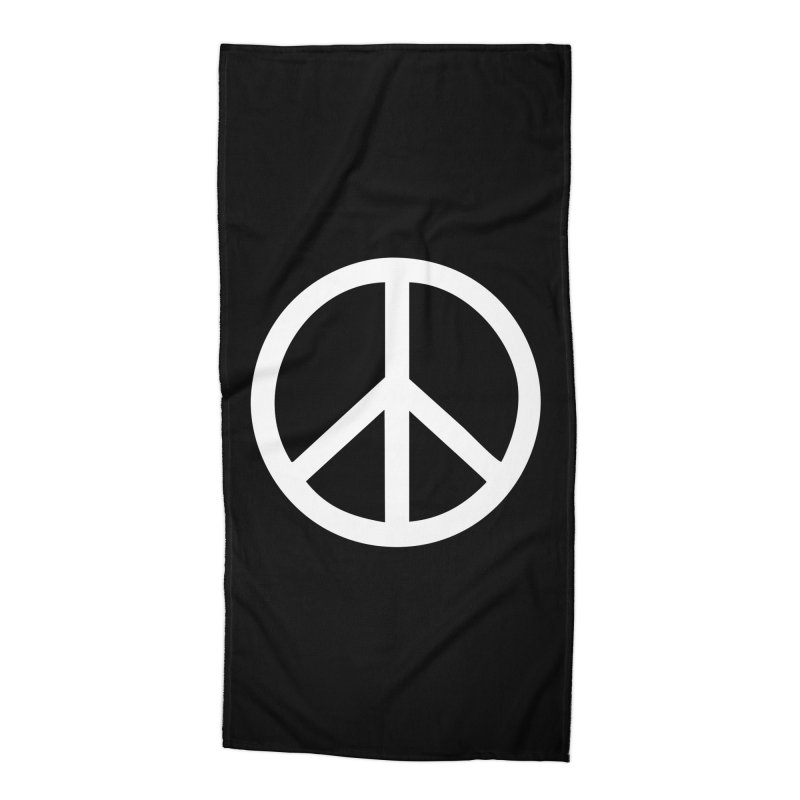 Peace, bro. Accessories Beach Towel by The Digital Crafts Shop