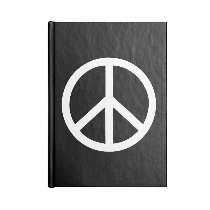 Peace, bro. Accessories Lined Journal Notebook by The Digital Crafts Shop