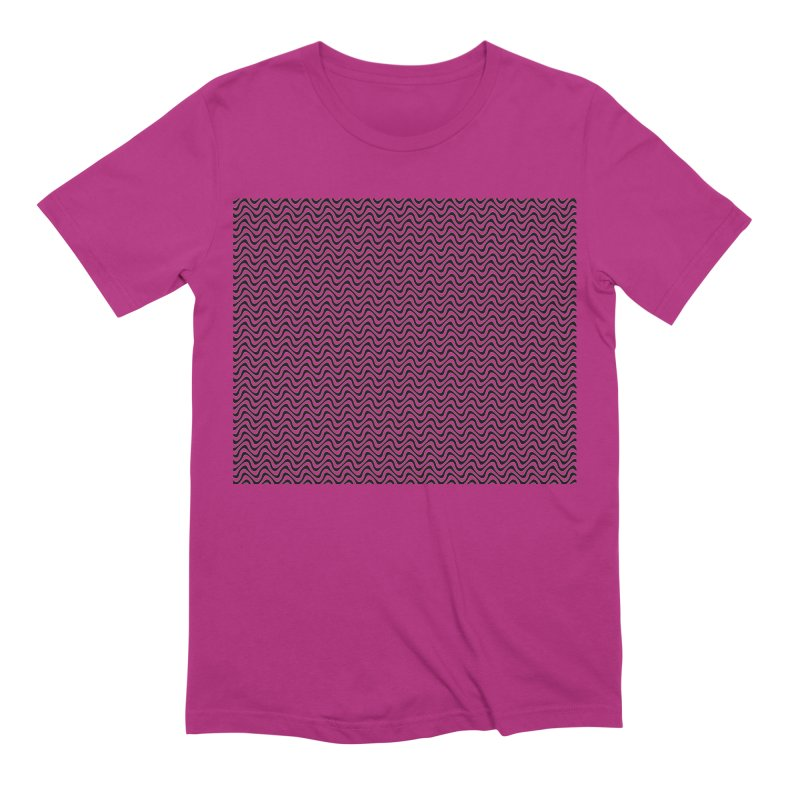 Turbulence Men's Extra Soft T-Shirt by The Digital Crafts Shop