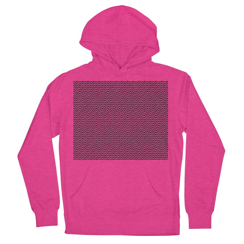 Turbulence Women's French Terry Pullover Hoody by The Digital Crafts Shop