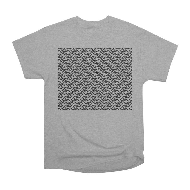 Turbulence Women's Heavyweight Unisex T-Shirt by The Digital Crafts Shop