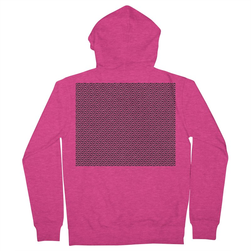 Turbulence Women's French Terry Zip-Up Hoody by The Digital Crafts Shop