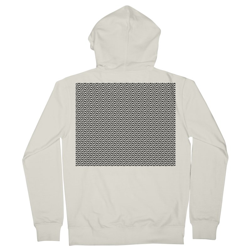 Turbulence Men's French Terry Zip-Up Hoody by The Digital Crafts Shop