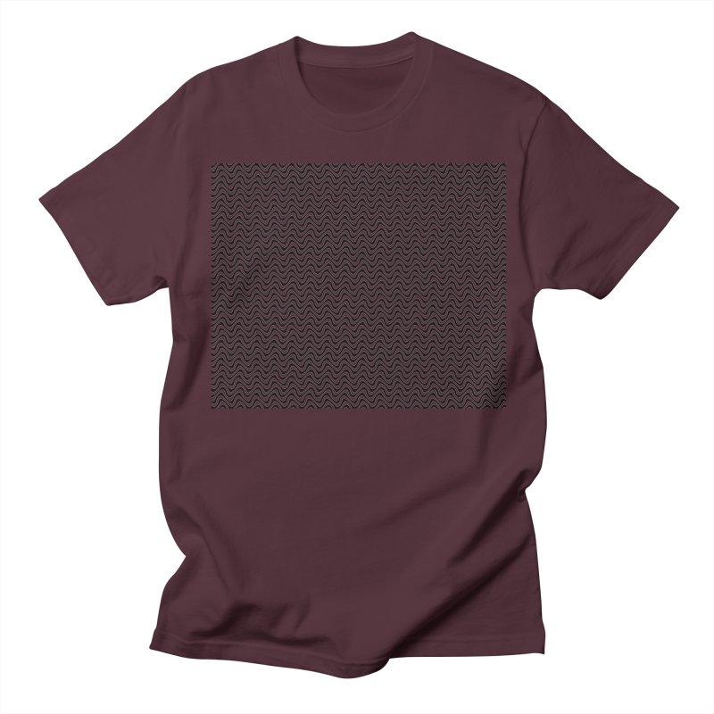 Turbulence Men's Regular T-Shirt by The Digital Crafts Shop