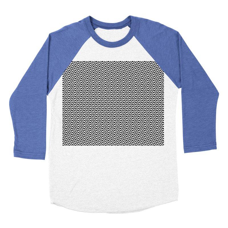 Turbulence Men's Baseball Triblend Longsleeve T-Shirt by The Digital Crafts Shop