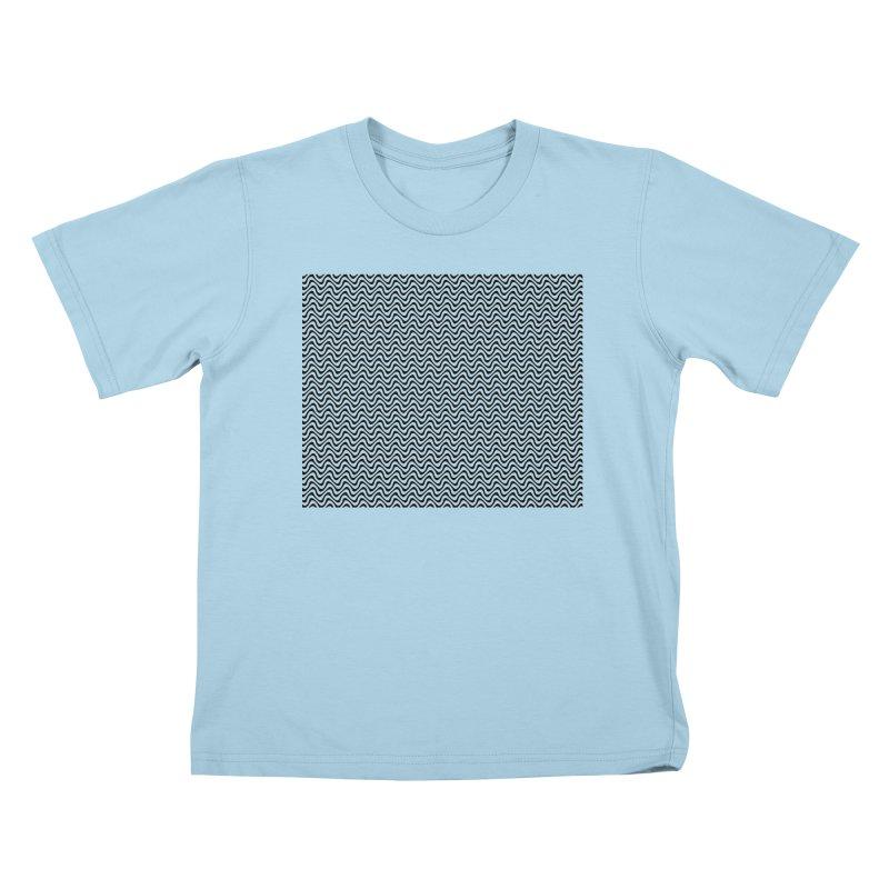 Turbulence Kids T-Shirt by The Digital Crafts Shop