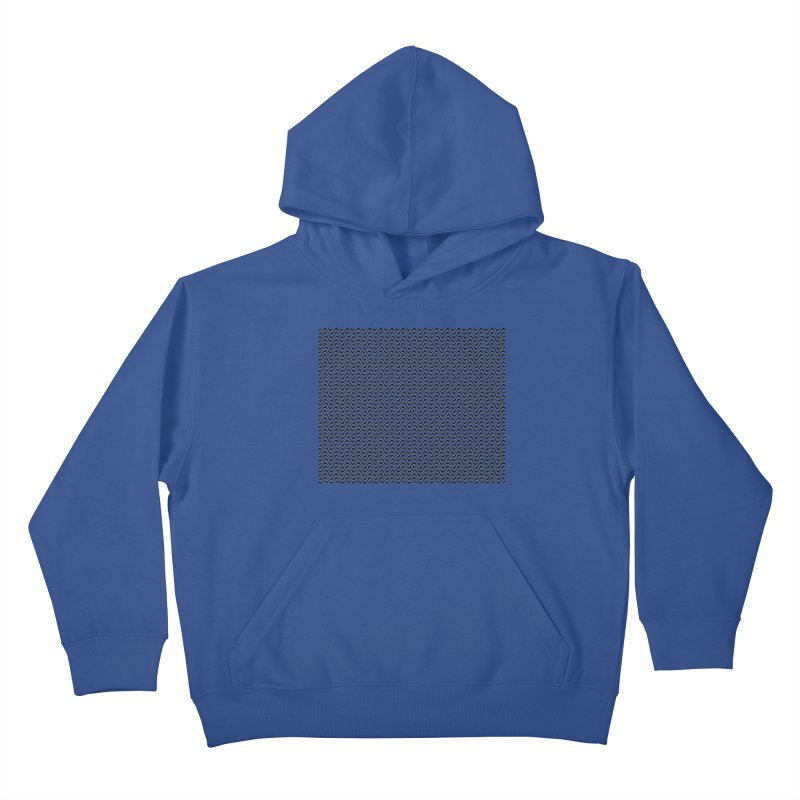 Turbulence Kids Pullover Hoody by The Digital Crafts Shop