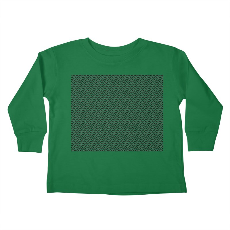 Turbulence Kids Toddler Longsleeve T-Shirt by The Digital Crafts Shop