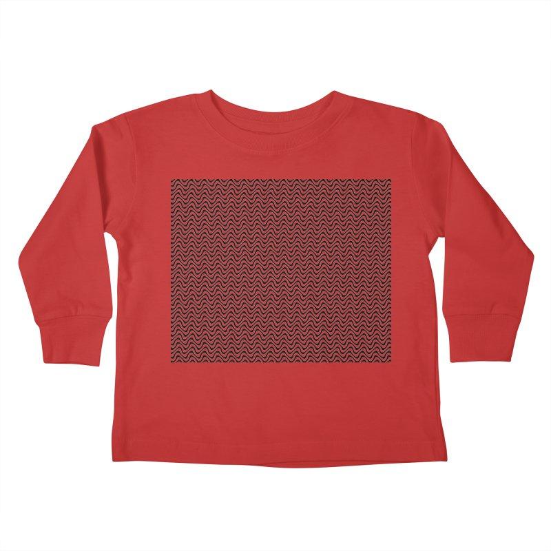Turbulence Kids Toddler Longsleeve T-Shirt by The Digital Crafts Shop