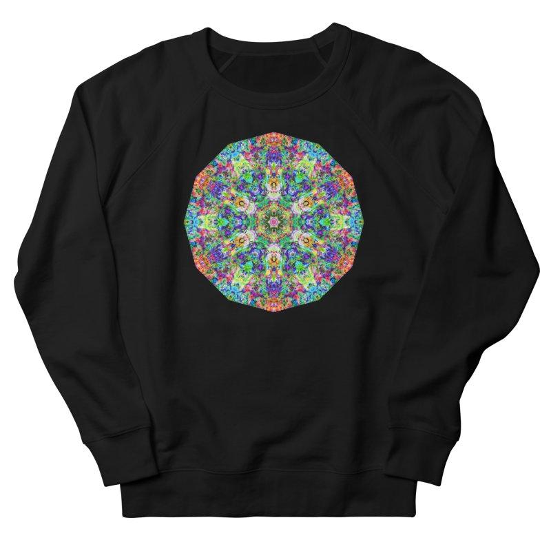 Emphasis 31 Mandala Kaleidoscope Women's French Terry Sweatshirt by The Digital Crafts Shop
