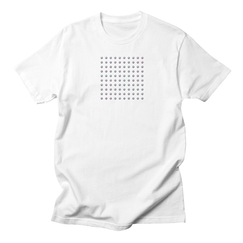 Organized Color Pearls Women's Regular Unisex T-Shirt by The Digital Crafts Shop