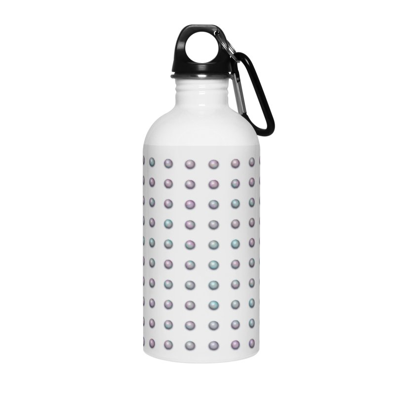 Organized Color Pearls Accessories Water Bottle by The Digital Crafts Shop