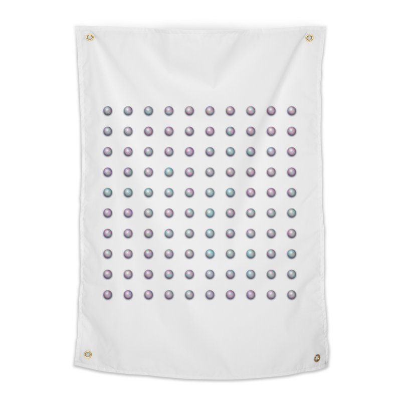 Organized Color Pearls Home Tapestry by The Digital Crafts Shop