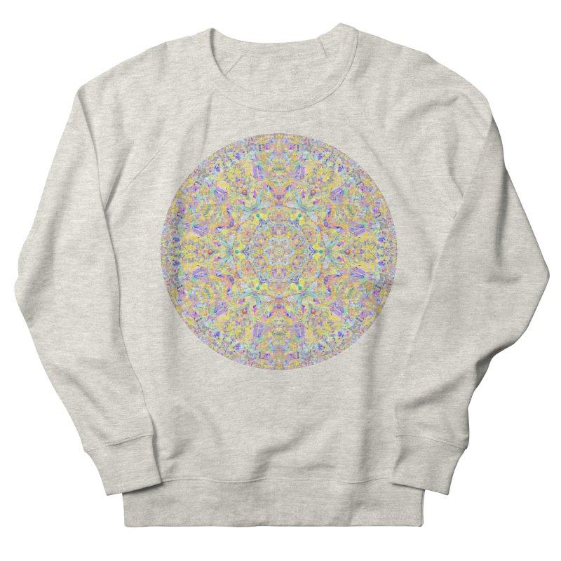 Pretty Pastel Mandala Women's French Terry Sweatshirt by The Digital Crafts Shop