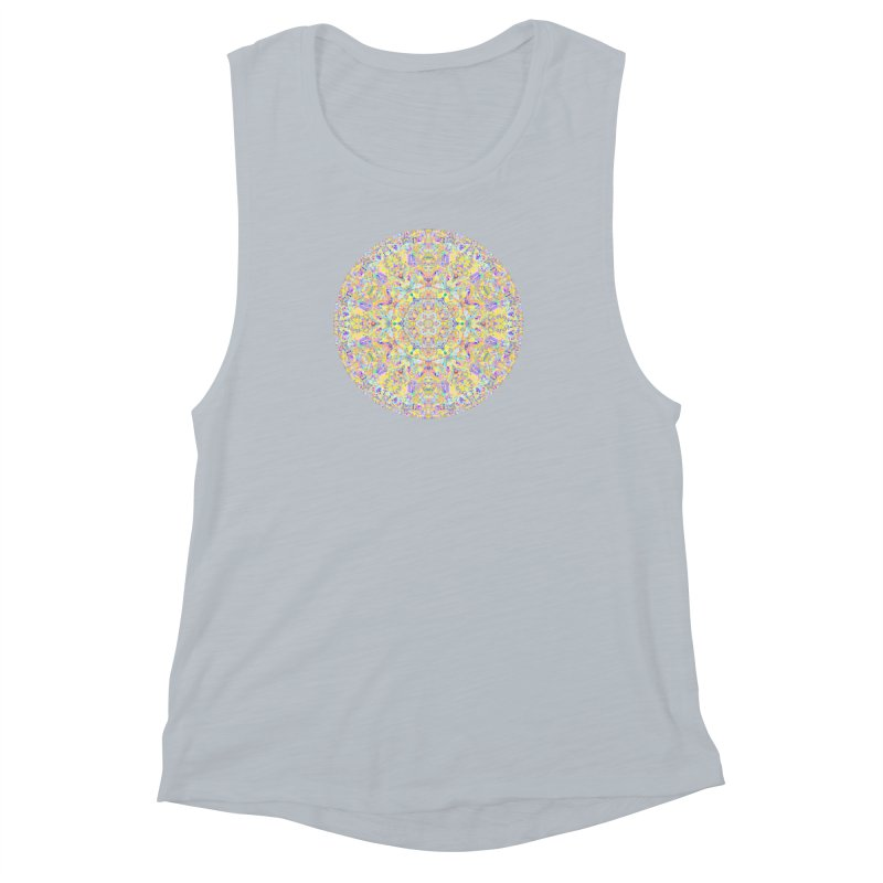Pretty Pastel Mandala Women's Muscle Tank by The Digital Crafts Shop