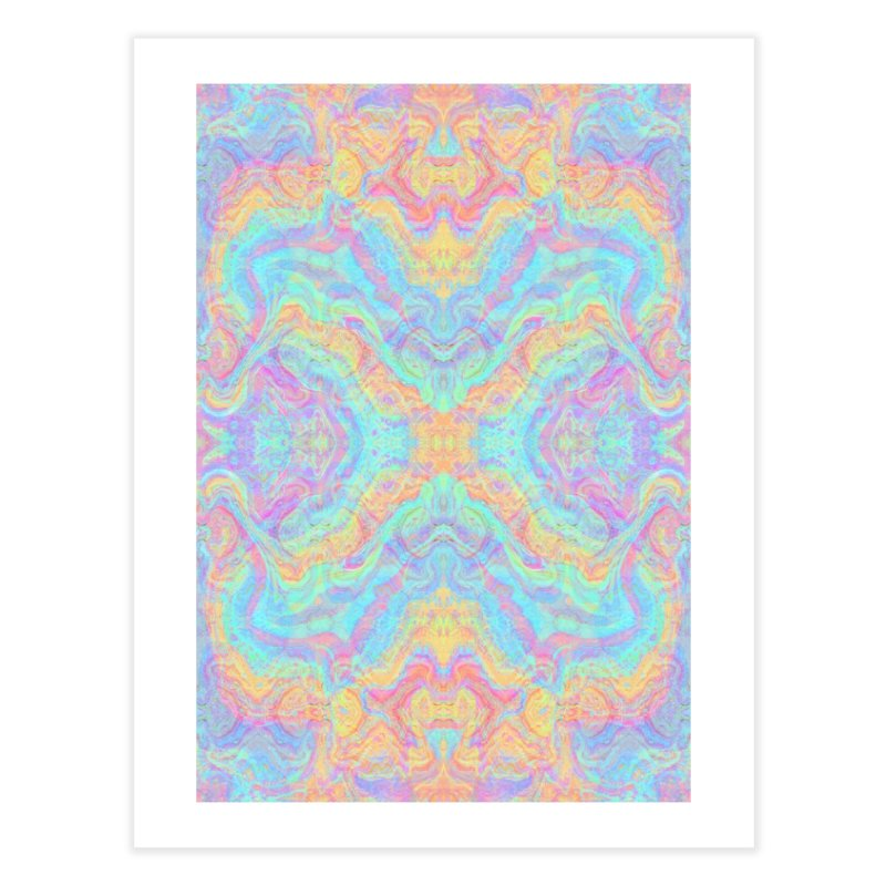 Transcendental Non-Oriental Home Fine Art Print by The Digital Crafts Shop