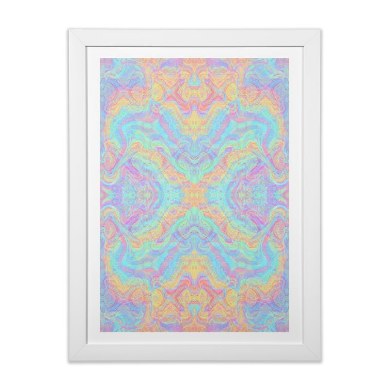 Transcendental Non-Oriental Home Framed Fine Art Print by The Digital Crafts Shop