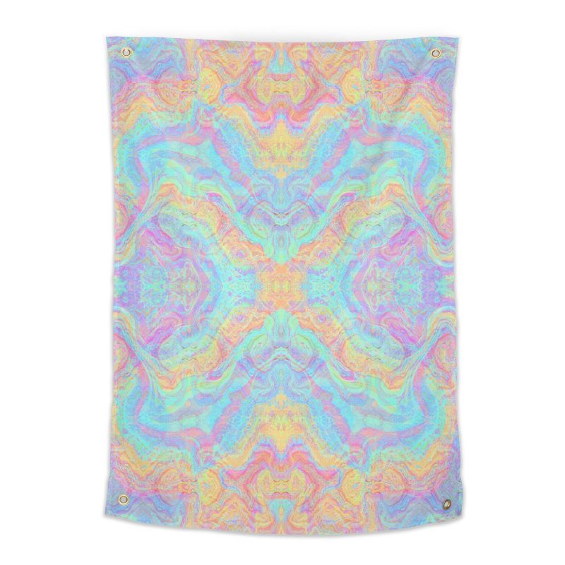 Transcendental Non-Oriental Home Tapestry by The Digital Crafts Shop