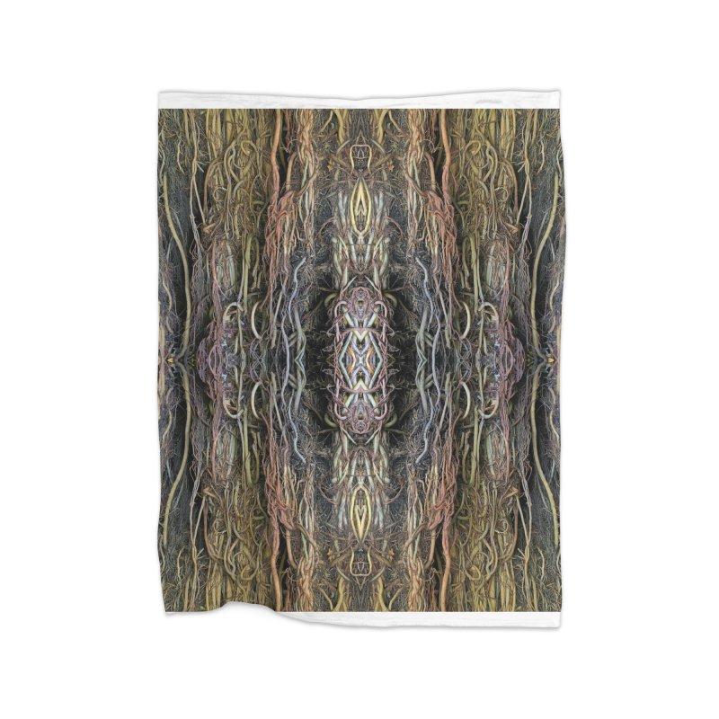 Havana Roots Home Fleece Blanket Blanket by The Digital Crafts Shop