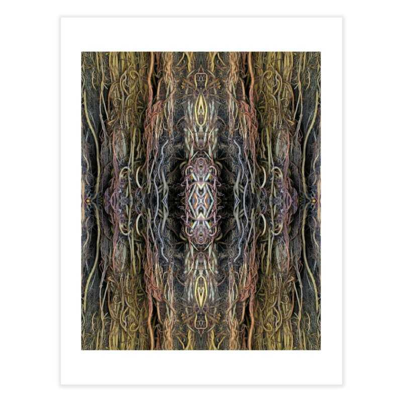 Havana Roots Home Fine Art Print by The Digital Crafts Shop