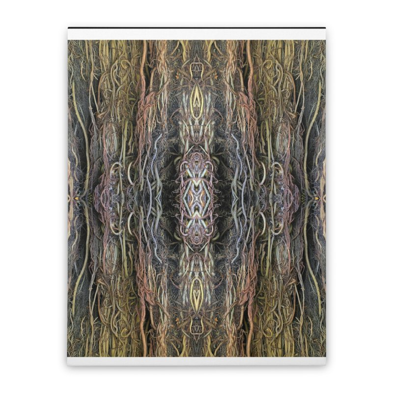 Havana Roots Home Stretched Canvas by The Digital Crafts Shop