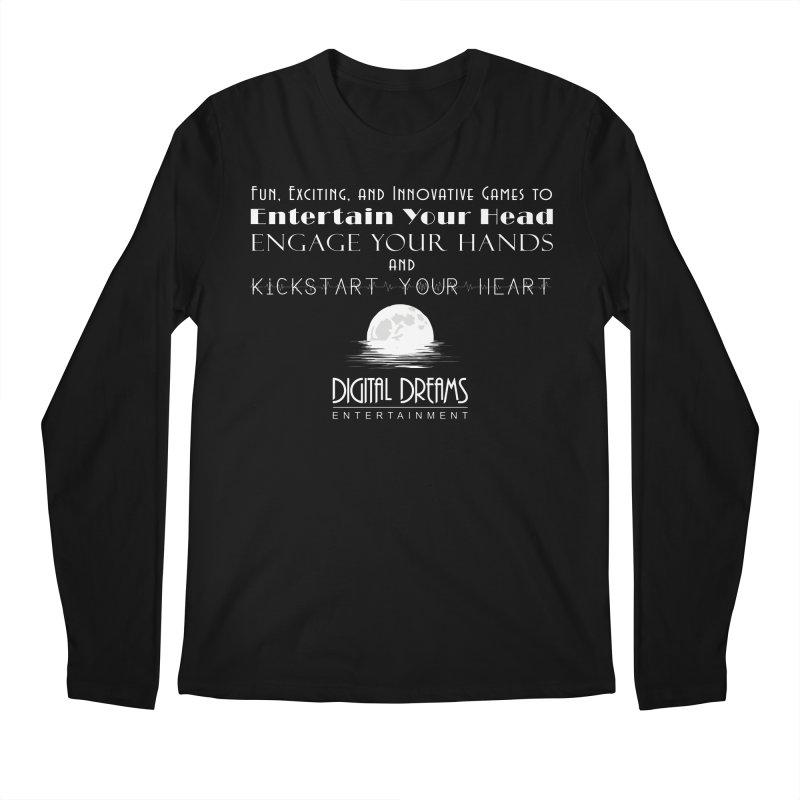 Digital Dreams Ent - Head, Hands, Heart Men's Longsleeve T-Shirt by Digital Dreams Entainment Shop