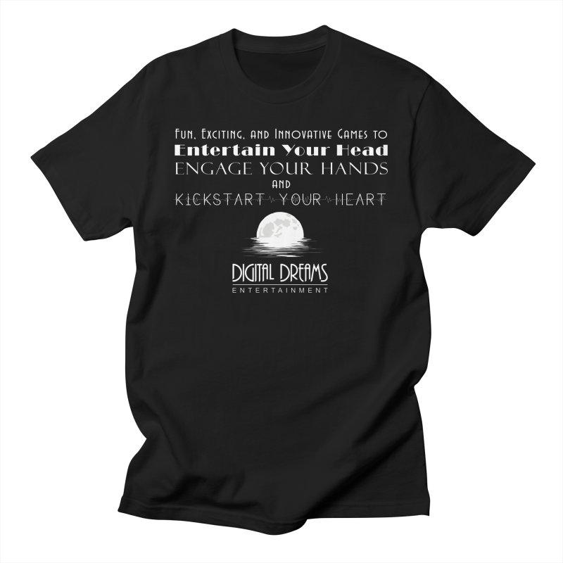 Digital Dreams Ent - Head, Hands, Heart Men's T-Shirt by Digital Dreams Entainment Shop