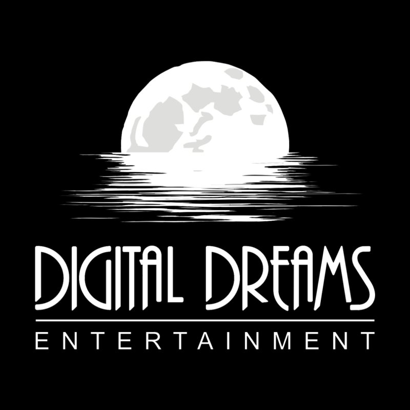 Digital Dreams Ent logo Men's T-Shirt by Digital Dreams Entainment Shop