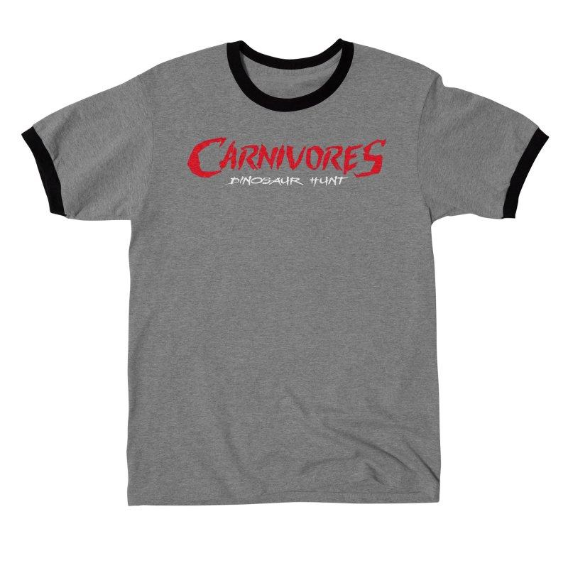 Carnivores: Dinosaur Hunt logo (on dark) Women's T-Shirt by Digital Dreams Entainment Shop
