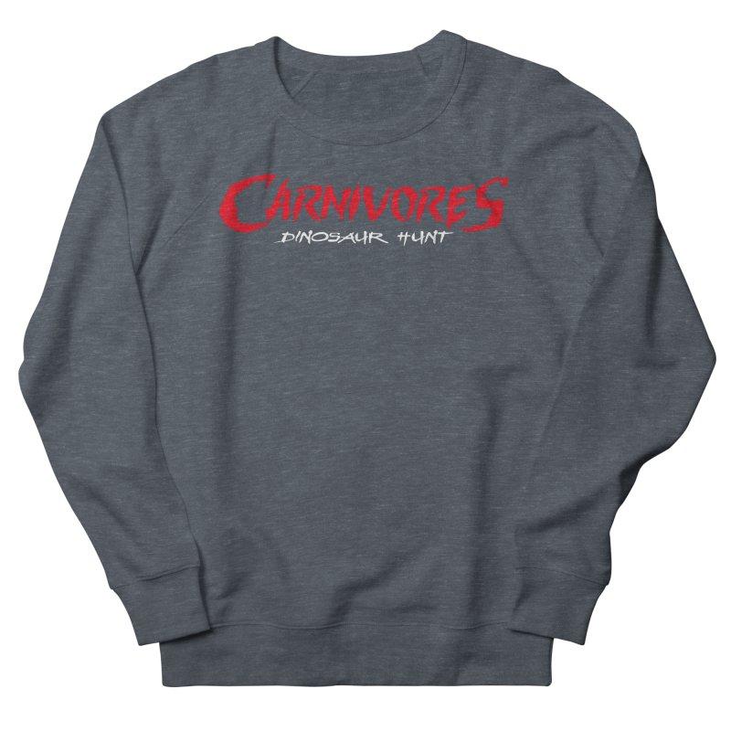 Carnivores: Dinosaur Hunt logo (on dark) Men's Sweatshirt by Digital Dreams Entainment Shop