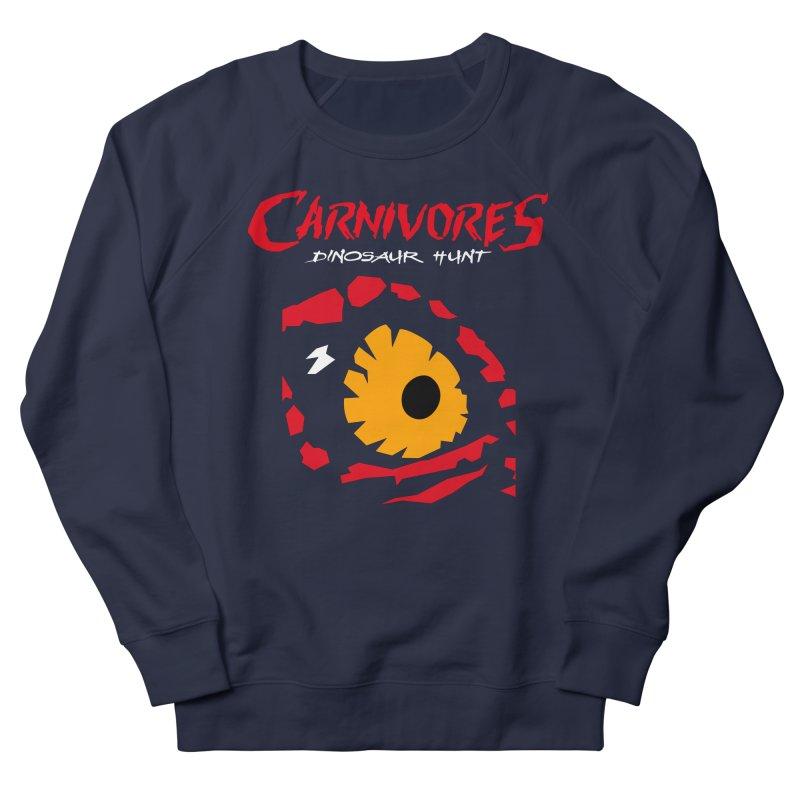 Carnivores: Dinosaur Hunt eye Men's Sweatshirt by Digital Dreams Entainment Shop