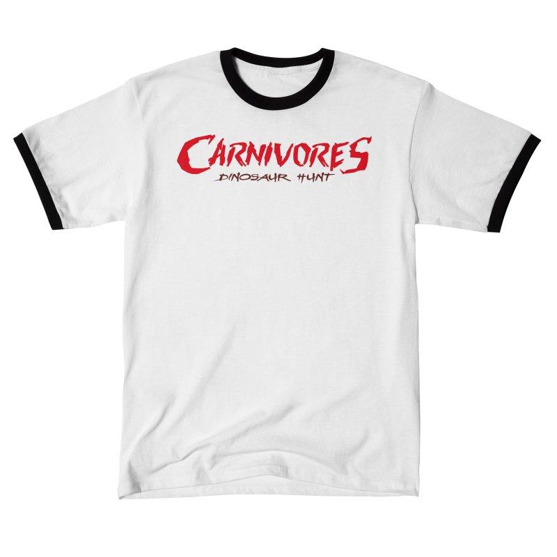 Carnivores: Dinosaur Hunt logo (on light) Women's T-Shirt by Digital Dreams Entainment Shop