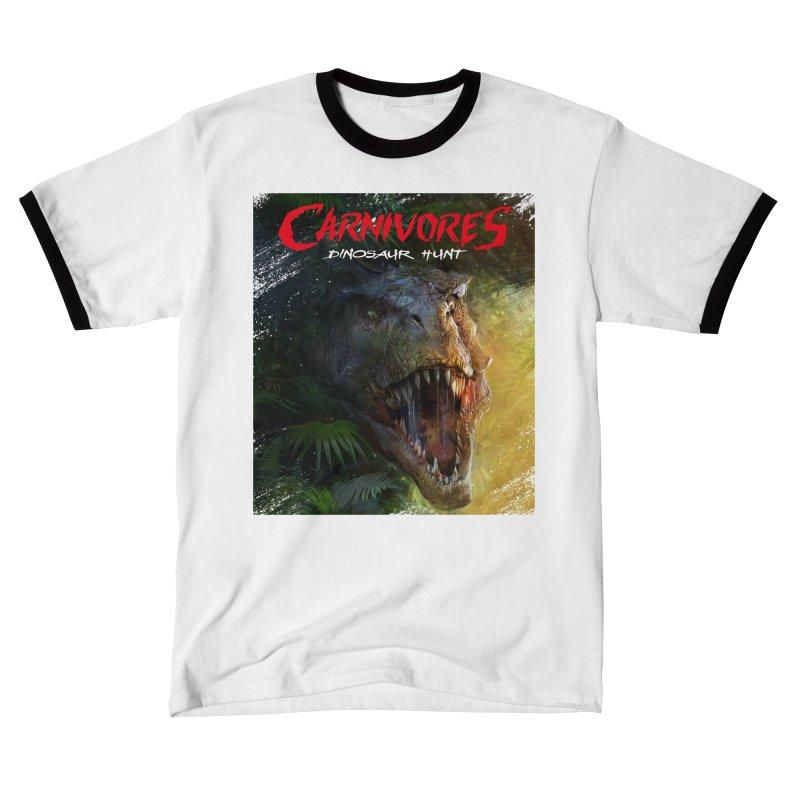 Carnivores: Dinosaur Hunt - T-Rex Women's T-Shirt by Digital Dreams Entainment Shop