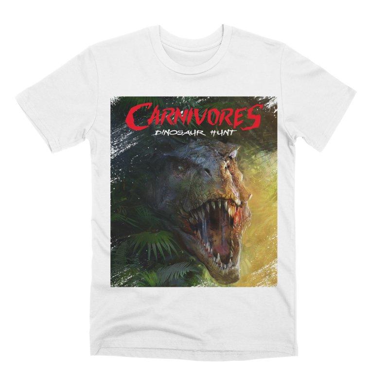 Carnivores: Dinosaur Hunt - T-Rex Men's T-Shirt by Digital Dreams Entainment Shop
