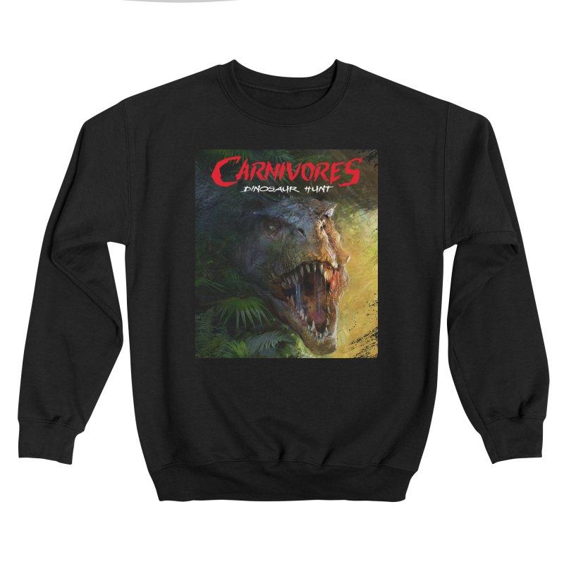 Carnivores: Dinosaur Hunt - T-Rex Women's Sweatshirt by Digital Dreams Entainment Shop