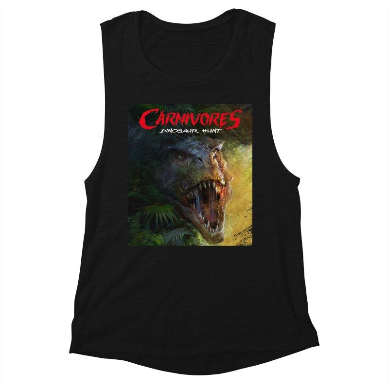 Carnivores: Dinosaur Hunt - T-Rex Women's Tank by Digital Dreams Entainment Shop