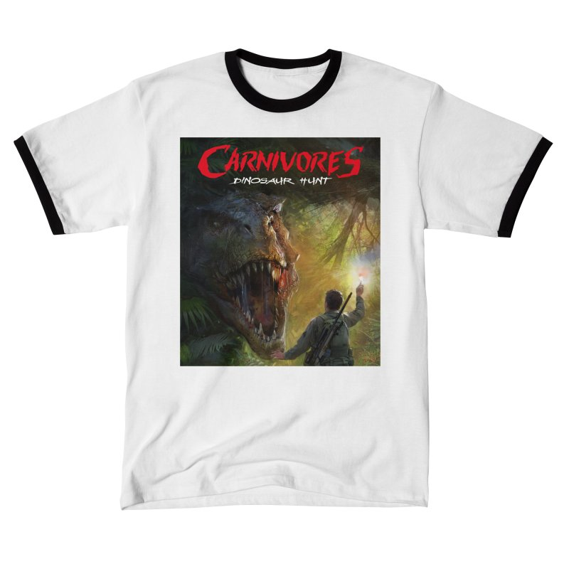 Carnivores: Dinosaur Hunt - T-Rex Hunter Women's T-Shirt by Digital Dreams Entainment Shop