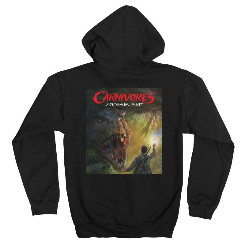 Carnivores: Dinosaur Hunt - T-Rex Hunter Women's Zip-Up Hoody by Digital Dreams Entainment Shop