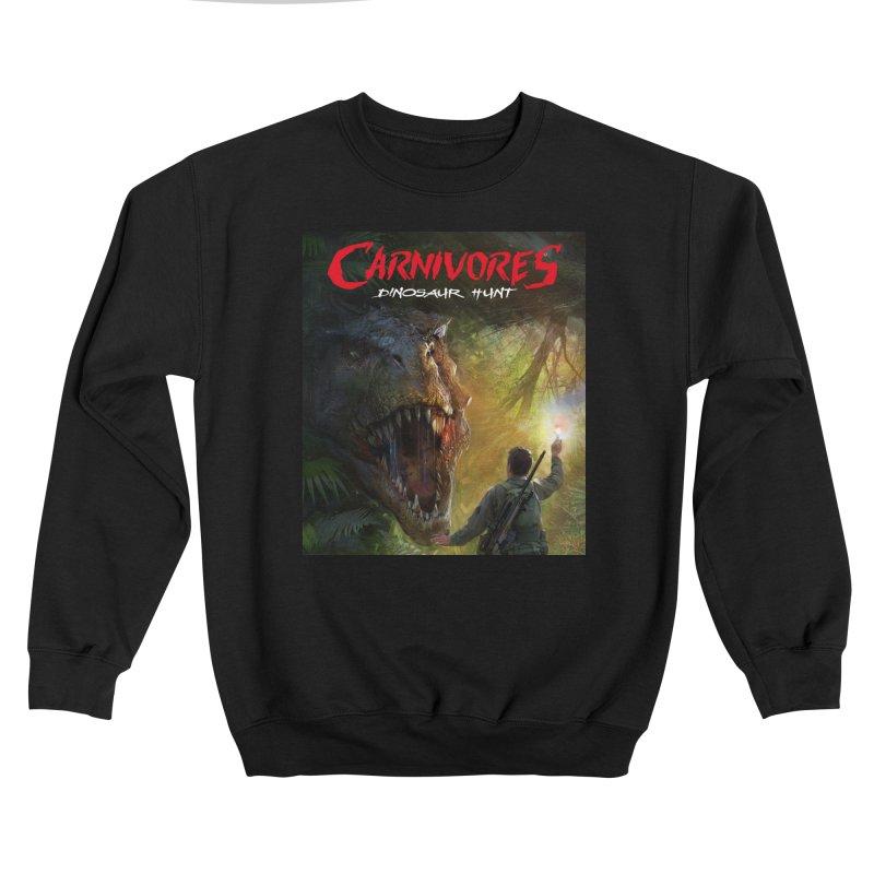 Carnivores: Dinosaur Hunt - T-Rex Hunter Women's Sweatshirt by Digital Dreams Entainment Shop